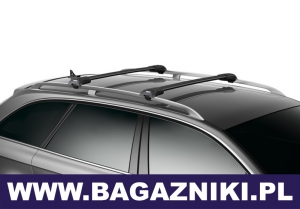 Bagażnik na relingi THULE Wingbar Edge Black TH 958520
